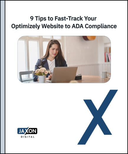 9 Tips to Fast-Track Your Optimizely Website to ADA Compliance
